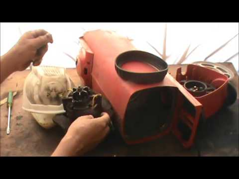 How to change the electrolux 725 suspension plate and for Miele vacuum motor burn out