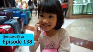 Acin Bawa Telpon Rumah ke Mall