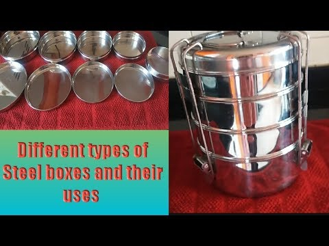 Different Types Of Steel Boxes N Their Uses    Lunch Boxes We Should Never Buy (Part 2) Tamil