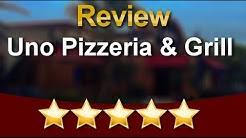 Uno Pizzeria & Grill Orlando Terrific Five Star Review by Barry R.
