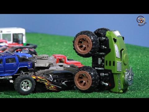 КОНКУРС! Открываем игрушки машинки. Инерционный Монстр-Траки. МанкиИгрушки