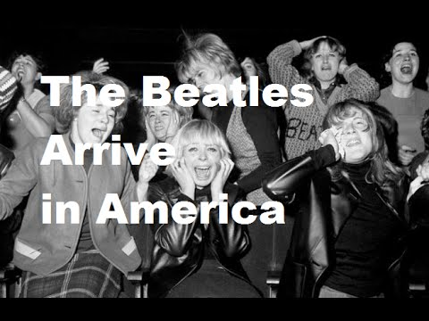 Image result for beatles arrive in new york february 7th 1964