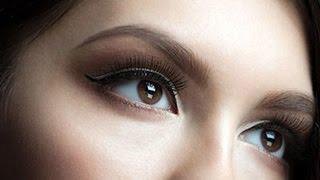 видео Перманентный макияж глаз, татуаж глаз
