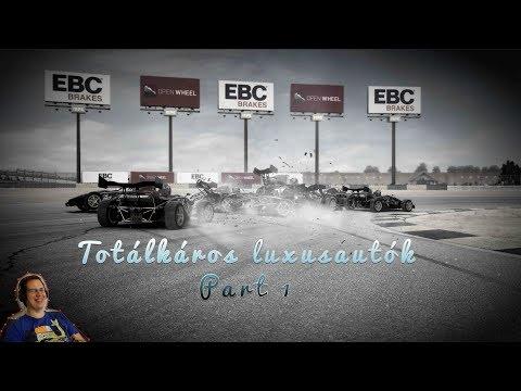 #1 Totálkáros Luxusautók Part 1 | Grid Autosport teszt