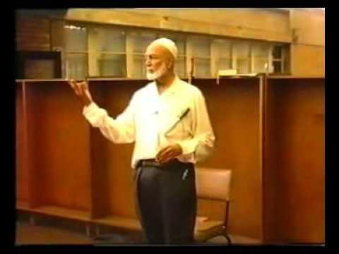 Ahmad Deedat... Pre-Khutbah talk at University of Natal 3 of 5