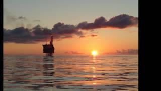 East Brae Oil Platform Relaxing Music