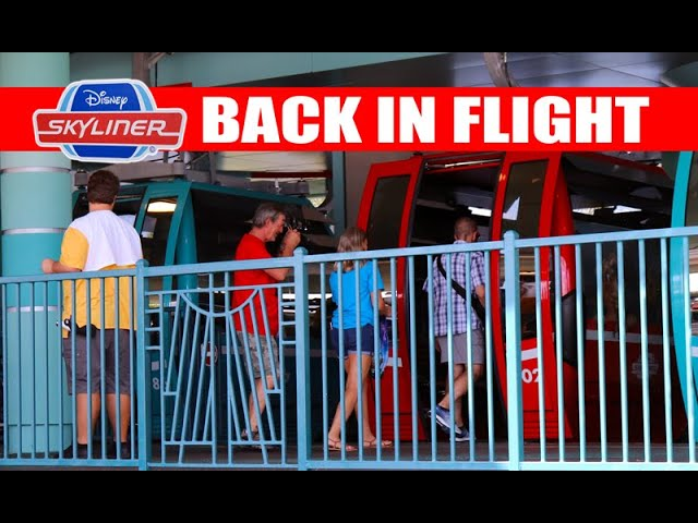 Disney Skyliner Reopened And Ready For Flight