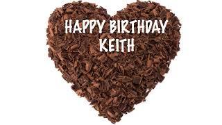 Keith  Chocolate - Happy Birthday