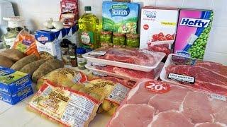 WALMART GROCERY HAUL -  FREEZER CROCKPOT MEAL EXCHANGE