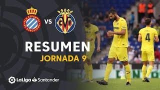 Resumen de RCD Espanyol vs Villarreal CF (0-1)