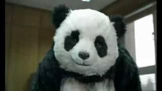 panda in the office اعلان باندا فى المكتب