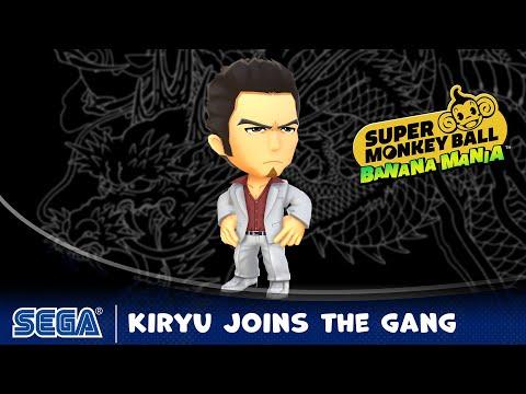 Super Monkey Ball Banana Mania | Kazuma Kiryu Joins the Gang