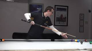 Billiards Tutorial: THE RAIL COMPRESSION MASSE!!