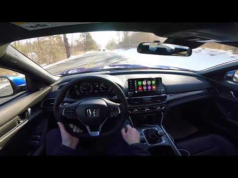 Another drive!! 2018 Honda Accord Sport 2.0T 6 Speed Manual