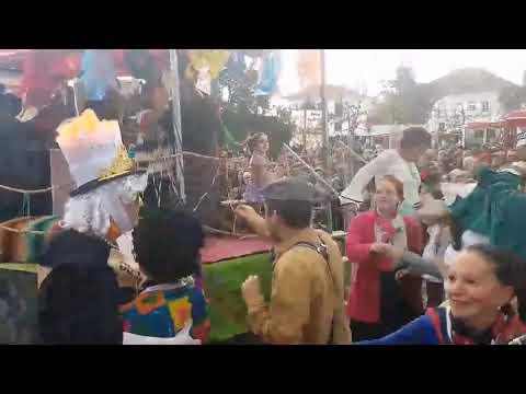 Participação no desfile de carnaval em Santarém – 2018
