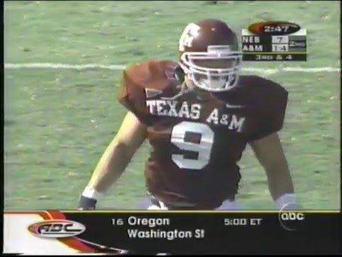 #18 Texas A&M vs #2 Nebraska 1998 Part 2