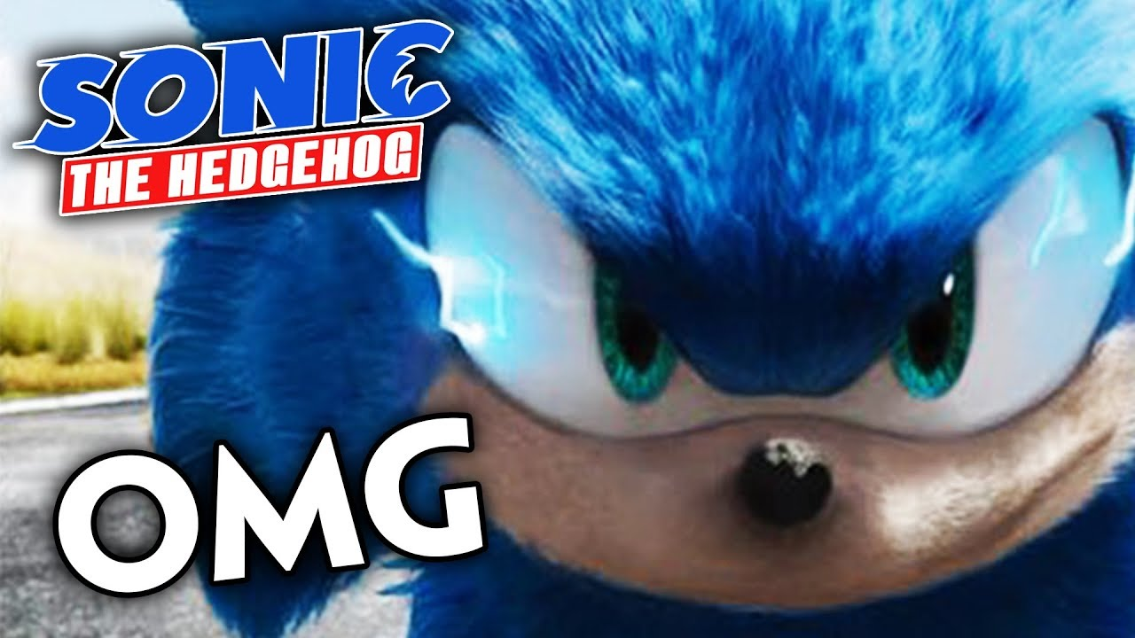Sonic Movie 2019 Design Officially Being Changed Youtube