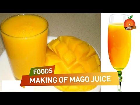 How to Make Fresh Mango Juice - తాజా మామిడి రసం ఎలా తయారు చెయ్యాలి ? | South Indian Recipes