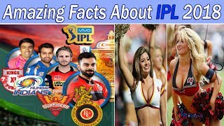 Amazing Facts About IPL 2018 | Indian Premier League | Cricket Facts and Records
