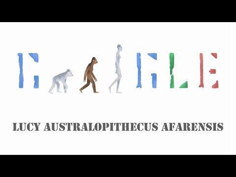 Australopithecus Afarensis 🐒 Lucy 📆 24. November 2015 (Google Doodle)
