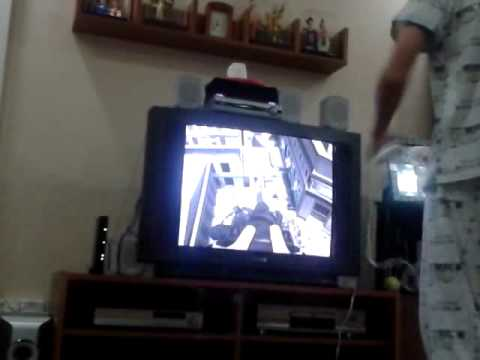 MW3 Wii Gameplay Helicopters Minigun and Fireworks