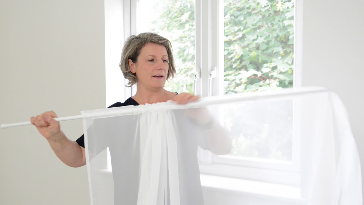 How to Hang Net Curtains - CurtainsCurtainsCurtains - YouTube