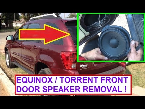 hqdefault front door speaker removal and replacement chevrolet equinox  at crackthecode.co