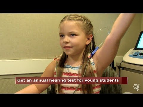 Mayo Clinic Minute: Why your child needs a hearing test