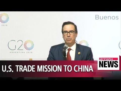 Trump's senior economic advisors to visit Beijing next week for crunch trade talks