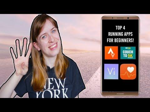 Top 4 Best Running Apps For Beginners! | ItsBecky