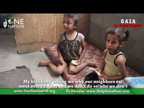 Help the people of Gaza - August 2017