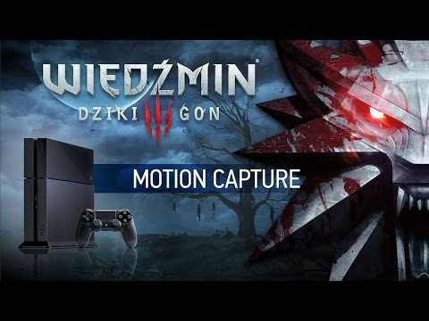 The Witcher 3 on PS4 | Motion Capture session