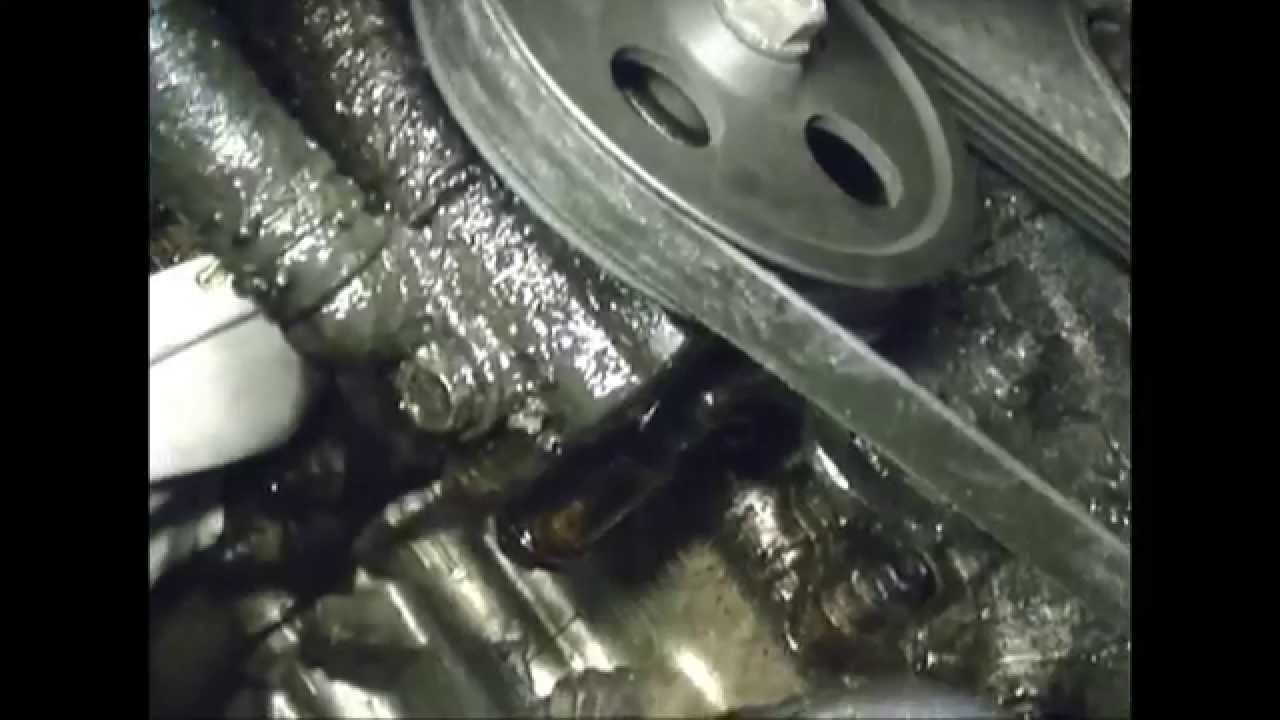 1997 Toyota Camry Power Steering Pump Replacement Youtube
