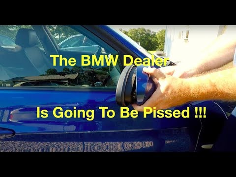 bmw-e90-malfunctioning-power-folding-mirror-problem-fix-for-free-!!!