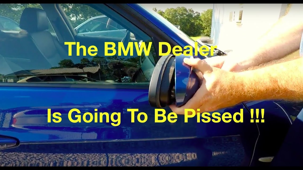 Bmw E90 Malfunctioning Power Folding Mirror Problem Fix For Free 2001 Subaru Forester Fuse Diagram Youtube Premium