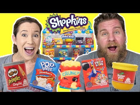 NEW Shopkins Oh So Real - It's Like Real Food!