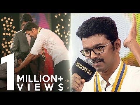Vijay's Touching Speech On Farmers | Official HD Video | BGM 2017