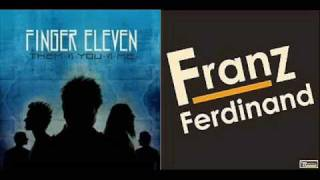 Finger Eleven vs Franz Ferdinand - You Girls Paralyze (DJ Petro Mash-Up Remix)