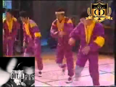 B-Boy Panther (DJ Panther's Old Skool ElectroRap/breakdance