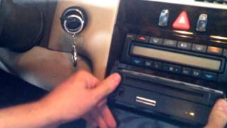 Video 97 Mercedes E320 Non Bose Stereo Install with Metra 70-1786 harness, EASY! download MP3, 3GP, MP4, WEBM, AVI, FLV November 2017