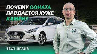 Хендай Соната (2017-2018) новый кузов - комплектации и цены, фото и видео тест-драйв