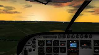 DHL C208B SuperCargomaster takeoff from Galway