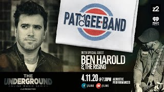 The Underground LIVE - Pat McGee Band + Ben Harold
