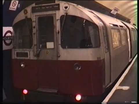 London Underground Piccadilly Line Holborn to Aldwych Branch 1993.