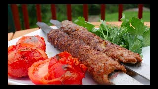 Grilled Ground Lamb Kebab Recipe - Lula Kebab with Tips and Tricks