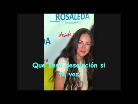 María Parrado Frío Karaoke