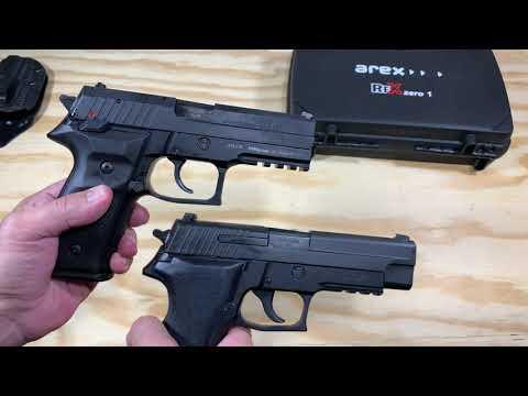 Pistola Arex Rex Zero 1