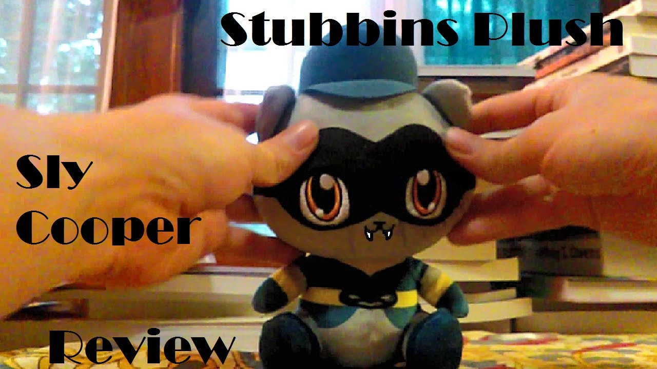 Sly Cooper Stuffed Animal, Stubbins Sly Cooper Plush Toy Review Youtube