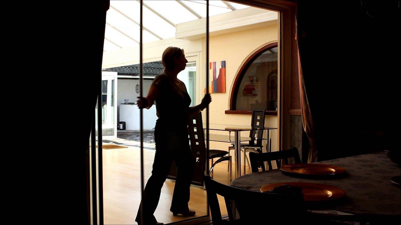 UltraSlim Glass Doors from SunSeeker Doors UK & UltraSlim Glass Doors from SunSeeker Doors UK - YouTube