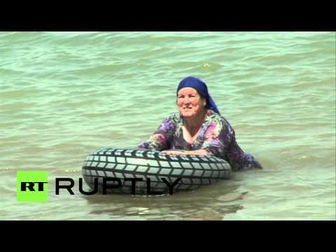 В Чечне открылся первый женский пляж